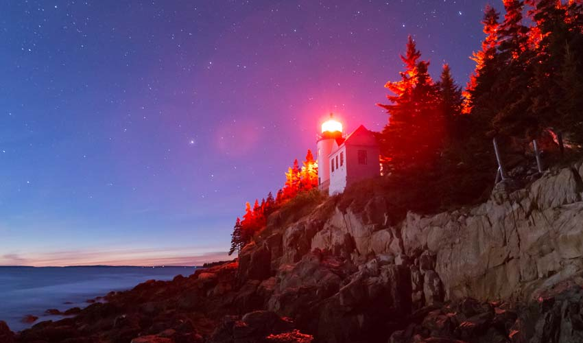 Maine Lighthouses near Bar Harbor