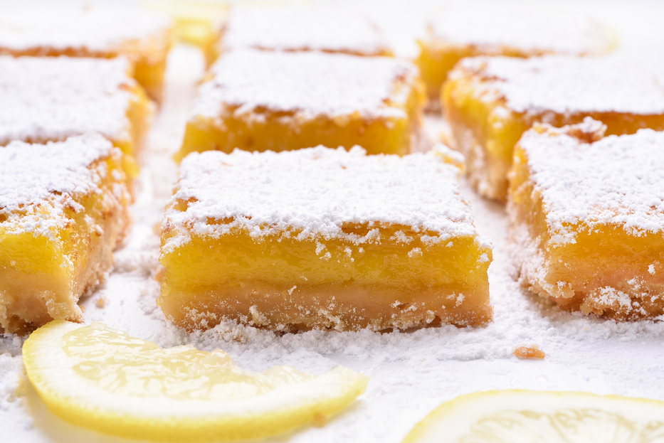 Stay at Home Recipes- Classic Lemon Bars